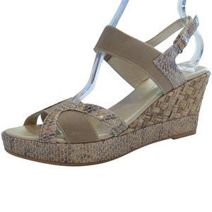 NEW Aquatalia Wedge Sandals